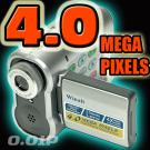 4.0M Pixel Digital Video Camera (Build-in 32M Flash)