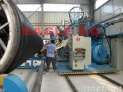 HDPE Profiles Spiral Winding Pipe Production Line