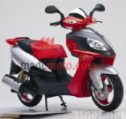 EEC/EPA DOT Approved Gas Motor Scooter Equipped with 4 Stoke 50cc Engine WZMS0528EEC/EPA