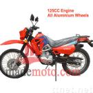 Gas-Powered 125CC Dirt Bike with Full Aluminum Wheel Frame WZDB1251