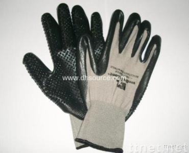 Black Nitrile with Mini Dots (DH390)