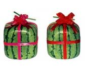 Square-grown Watermelons