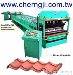 Cherng Ji - Roofing Tile Roll Forming Machine