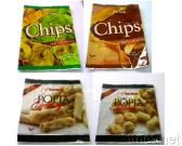 Tapioca Chips and Banana Chips