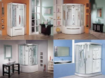 Steam Room and Integrated Shower Room