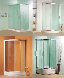 Shower Enclosure in Bathroom and Sanitary Ware