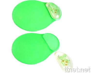 Mouse Pad with Gel Wrist Rest