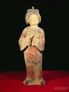 Chinese Antique Reproduction Earthenware Human Figure