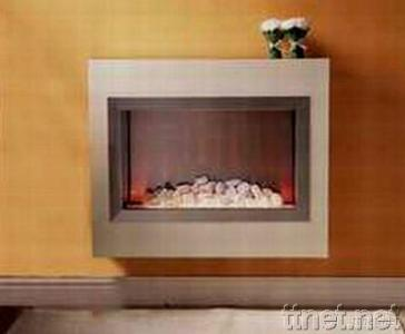 Visio Hang-on-the-Wall Electric Fireplace Suite