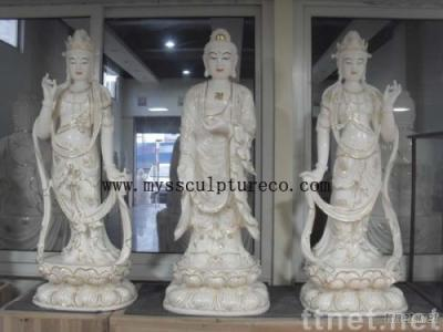 temple carving, lion, white marble carving buddha