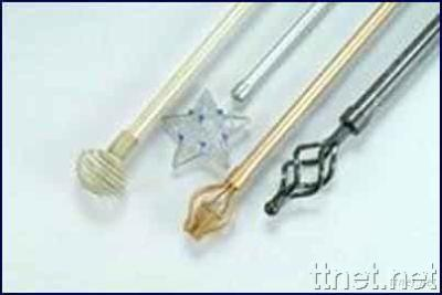 Curtain Rods, Components, Accessories