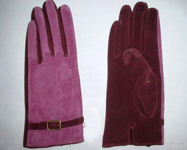 Pig Suede Leather Glove