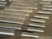 Forged shaft and roller