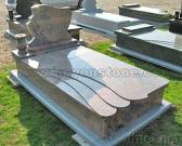 Granite Kerb-set Tombstone