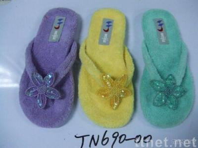 soft terry slippers