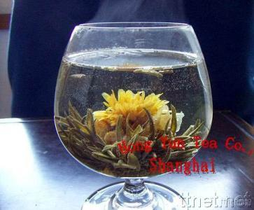Artistic Flower Tea