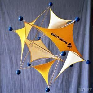 Tensegrity Advertising Stand