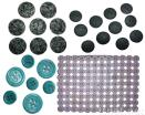 Gemstone Garment Buttons