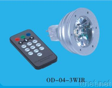High Bright LED IR Change-color Lamp