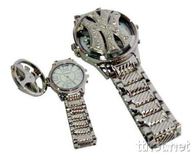 Hip Hop Spinner Watches