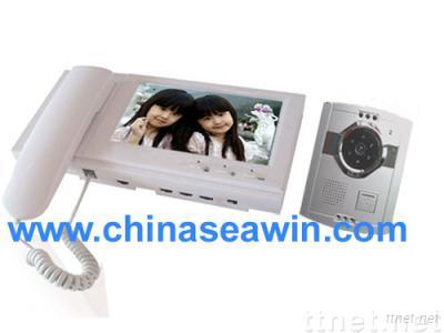 high quality 7 inch color video door phone for villa