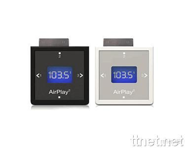 XtremeMac Airplay2 FM Transmitter for iPod (Compatible with iPod Nano and video iPod)