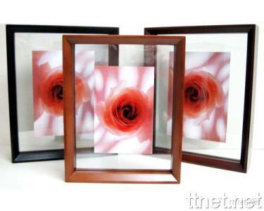 Dual Face Wooden Photo Frame