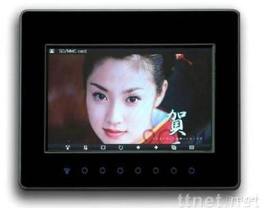 7 inch touch key digital photo frame