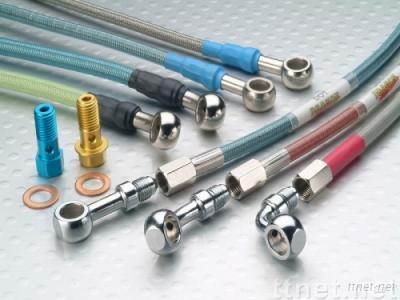 Brake Hose for cars, motorcycles, and ATVs