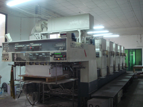 imported five-color printing machine