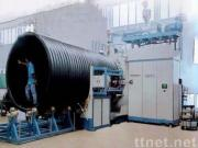 Large Diameter Holllow Wall Winding Pipe Extrusion Line