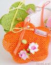 Artificial Decoration Bag with Flowers