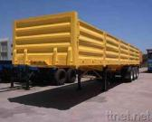 Three-Axle 40' 800mm Side Board Flatbed Semi-Trailer