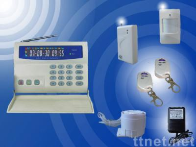 GSM Wireless Security Alarm System with LCD Display