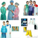 PE/CPE and PVC Surgery Garment/Nurse Cap/Doctor Cap/Sleeve Cover/Shoe Cover/Glove
