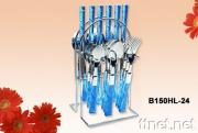 Stainless Steel Tableware with Plastic Handle