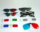 3D Glasses-Anaglyphic, Polarized