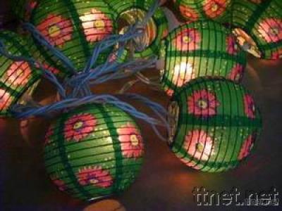 Christmas and Halloween Paper String Light