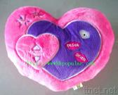 Heart Shape Pillow with Radio Function