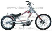 24 inch chopper bicycle