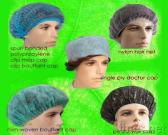 PE Shower Cap, Bouffant Cap, Surgical Doctor Cap