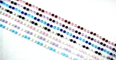 Two Toned Beads Garland