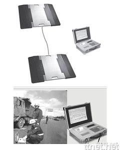 Portable Static/Dynamic Truck Axle Load Scale