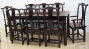 China table and chair