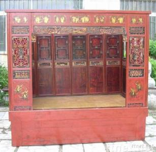 Chinese antique furniture - bed