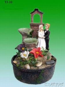 Poly-resin/Poly-stone Fountain/Statue