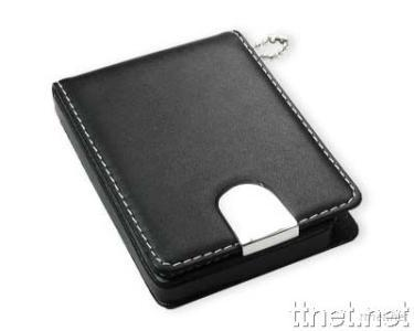 Deluxe PU Name Card Holder