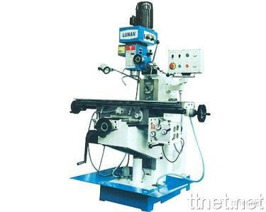 Horizontal & Vertical Head Milling Machine