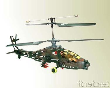 4CH Apache RC Helicopter