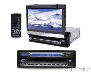 7-inch in-Dash Car DVD with AM/FM/Touch Screen